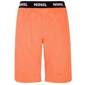 Nihil Wave Shorts Men Orange Flamingo